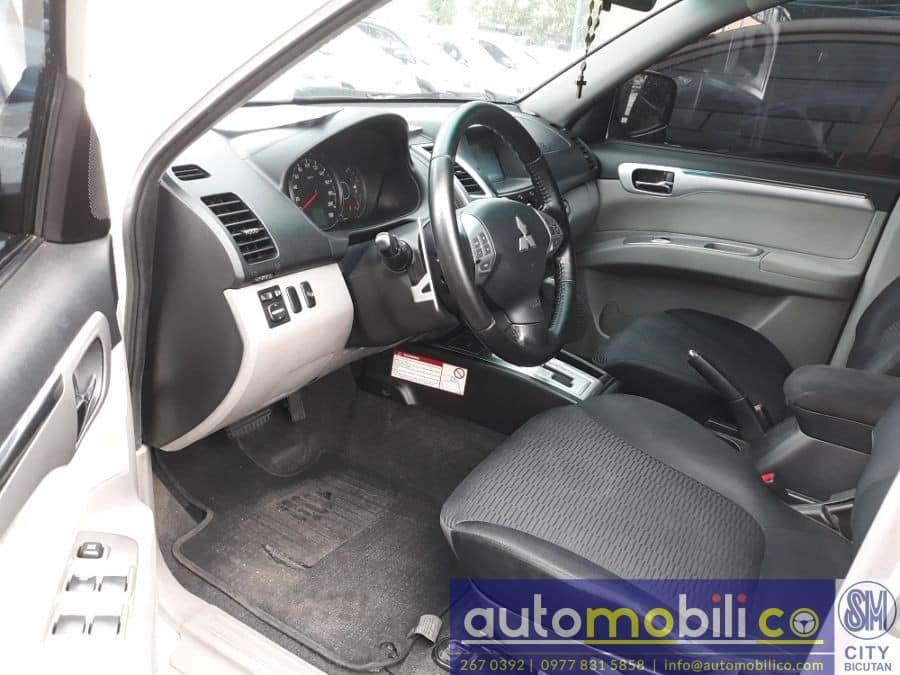 2012 Mitsubishi Montero Sport - Right View