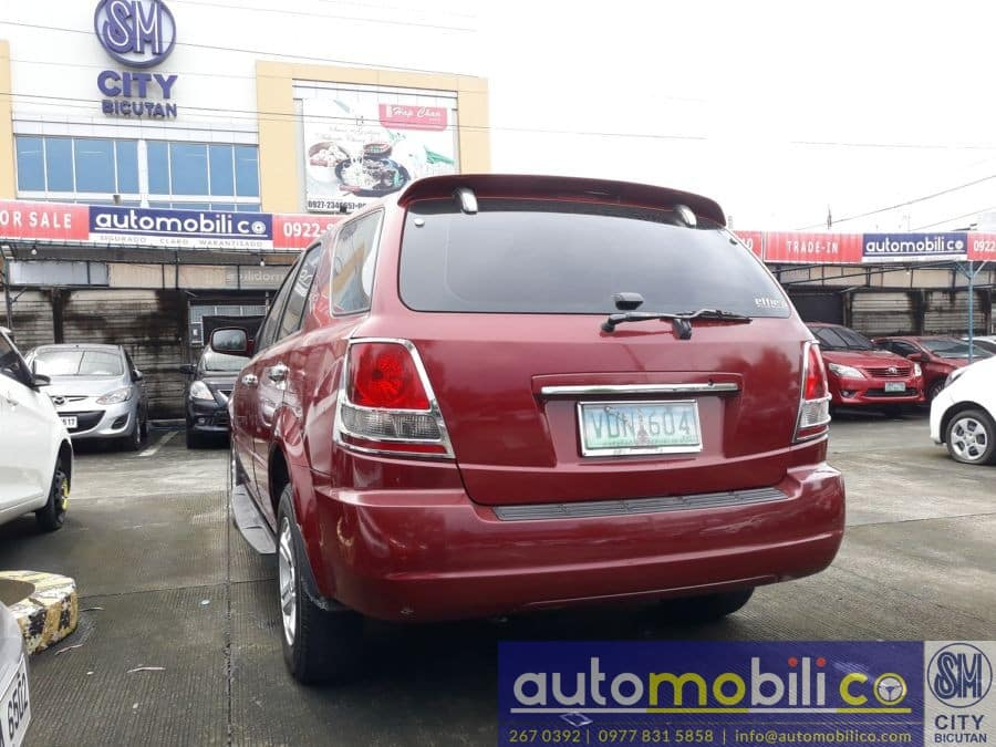 2005 Kia Sorento - Rear View