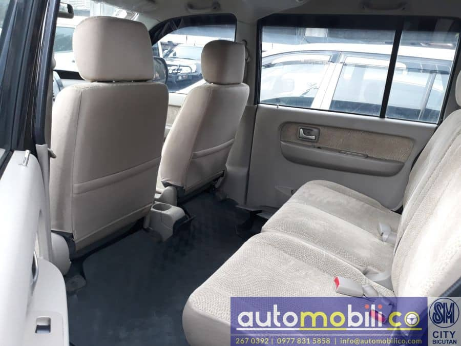 2014 Suzuki APV - Interior Rear View