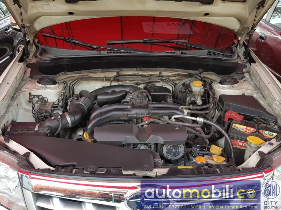 2013 Subaru Forester - Interior Rear View