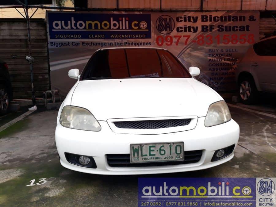 2000 Honda Civic - Front View