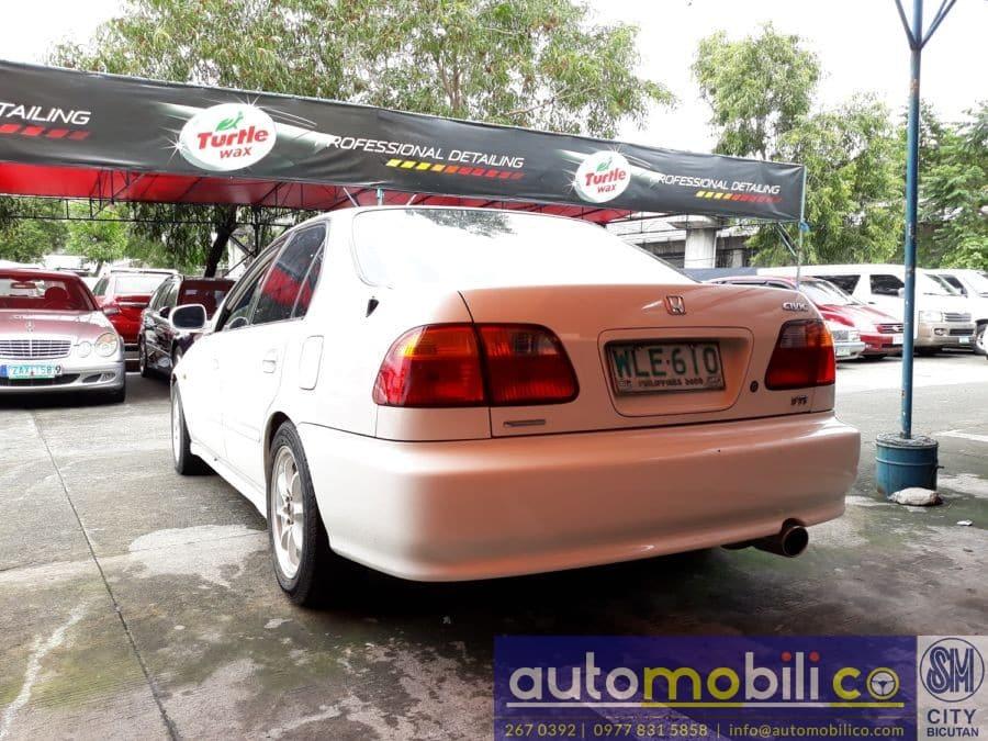 2000 Honda Civic - Rear View