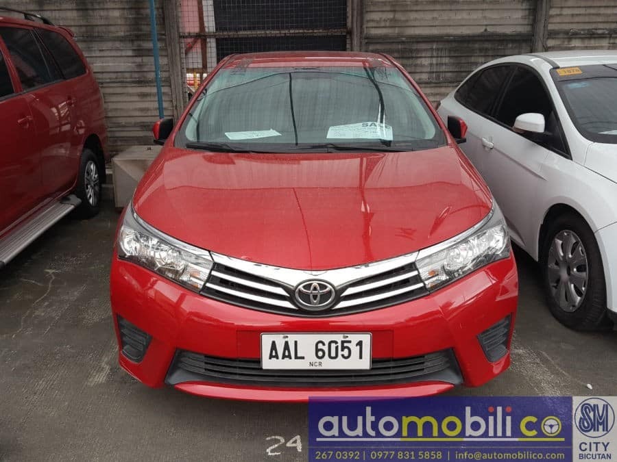 2014 Toyota Corolla Altis - Front View