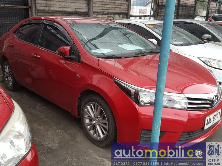 2014 Toyota Corolla Altis - Left View