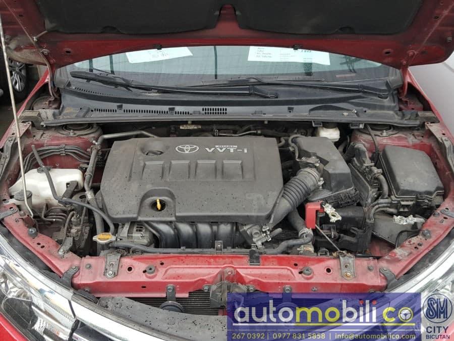 2014 Toyota Corolla Altis - Interior Rear View