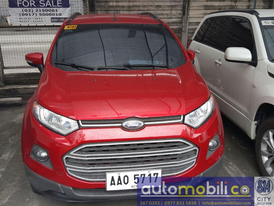 2014 Ford EcoSport - Front View