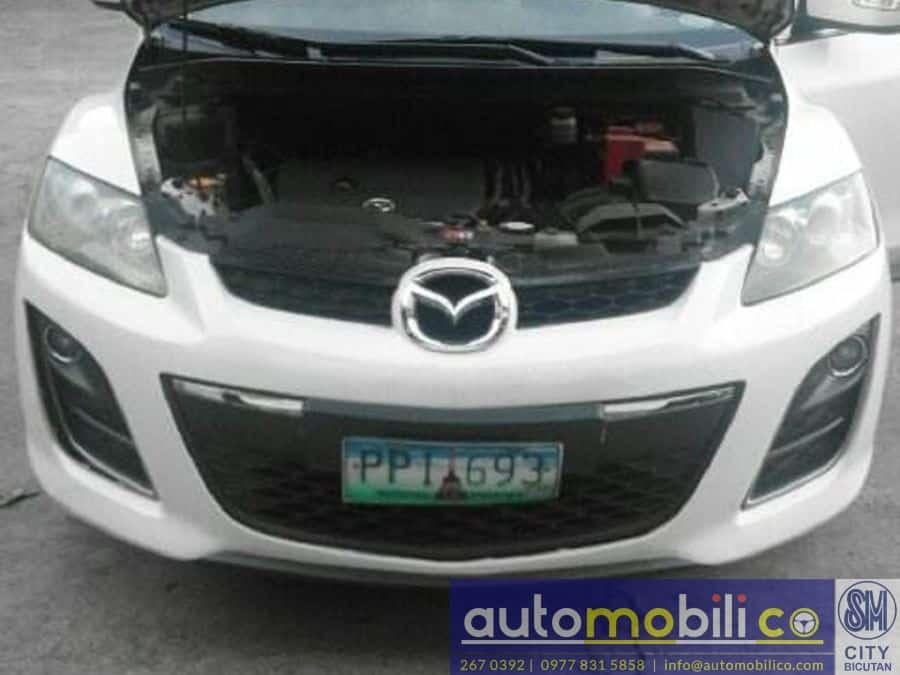 2010 Mazda CX-7 - Interior Rear View