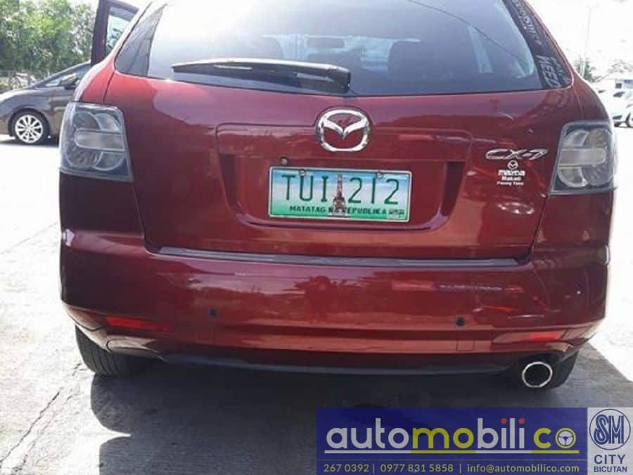 2011 Mazda CX-7 - Rear View