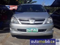 2007 Toyota Innova E - Front View