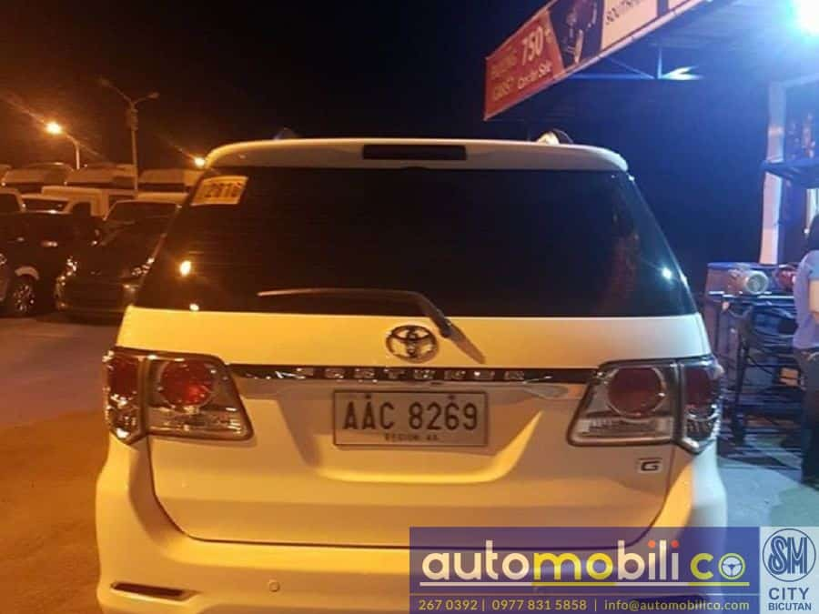 2014 Toyota Fortuner - Rear View