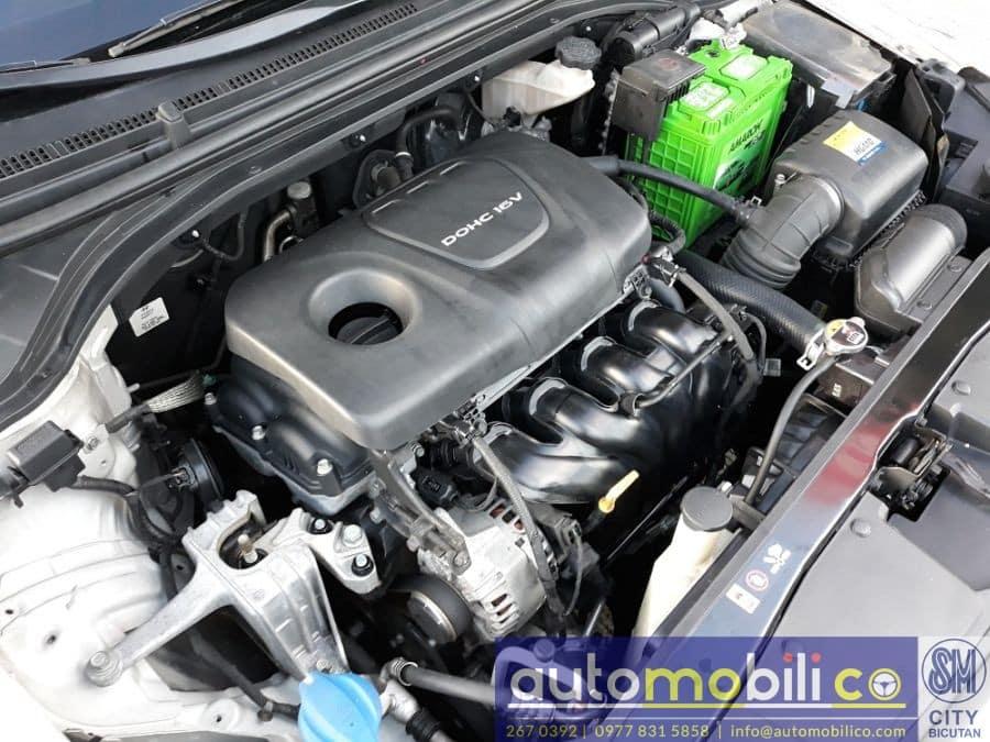 2016 Hyundai Elantra - Interior Rear View