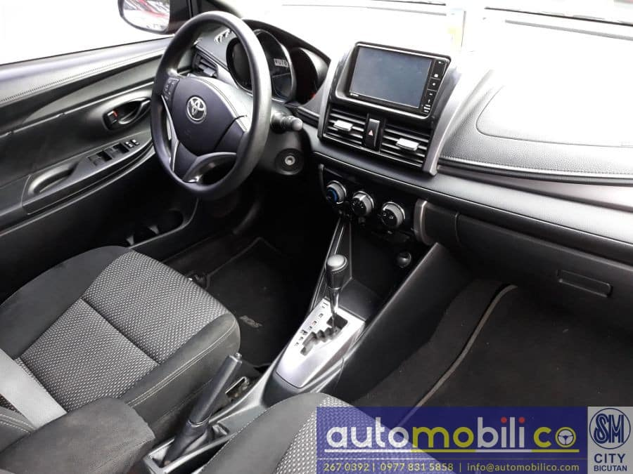 2016 Toyota Vios - Interior Rear View