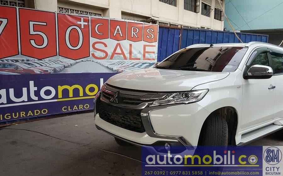 2016 Mitsubishi Montero Sport - Front View