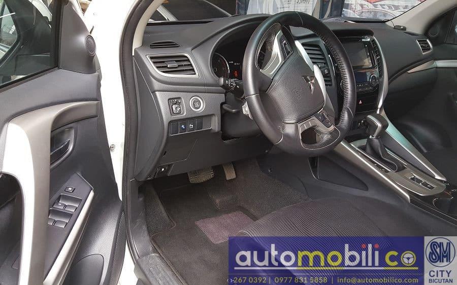2016 Mitsubishi Montero Sport - Interior Front View