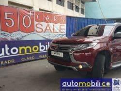 2017 Mitsubishi Montero Sport - Front View