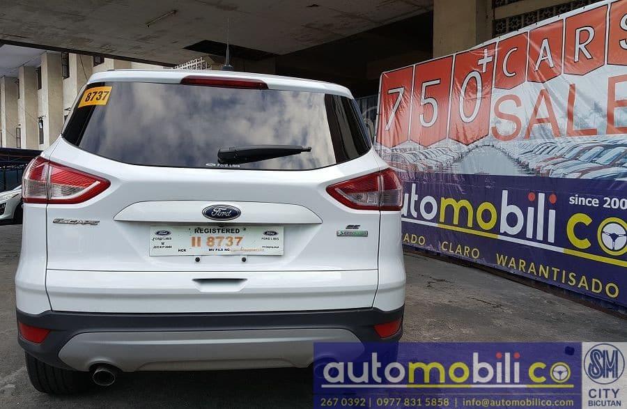 2015 Ford Escape - Rear View