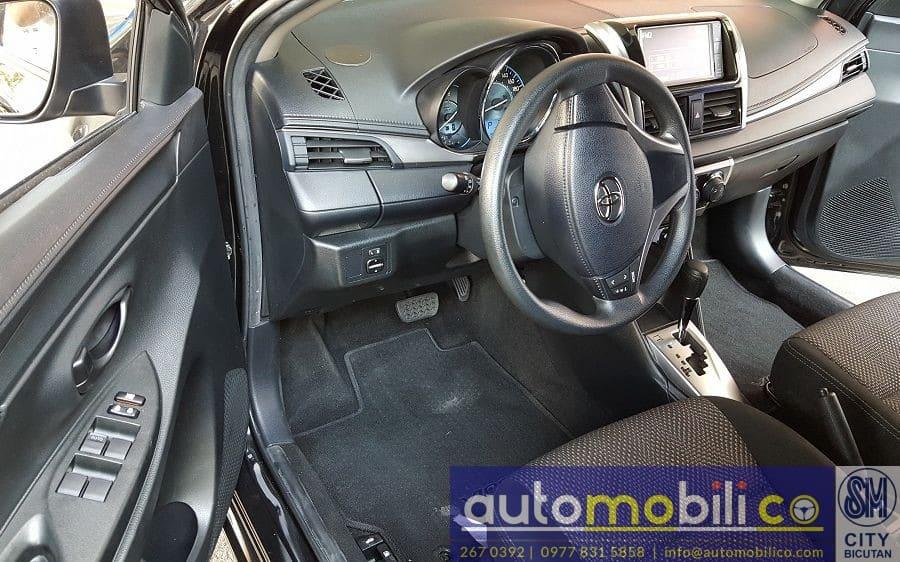 2017 Toyota Vios - Interior Front View