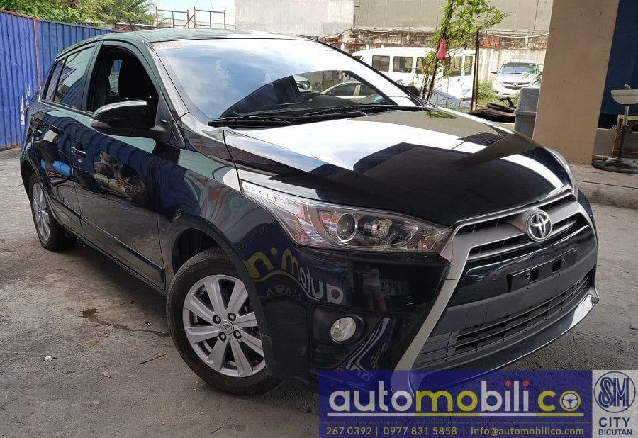 2016 Toyota Yaris - Left View
