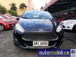 2015 Ford Fiesta - Front View