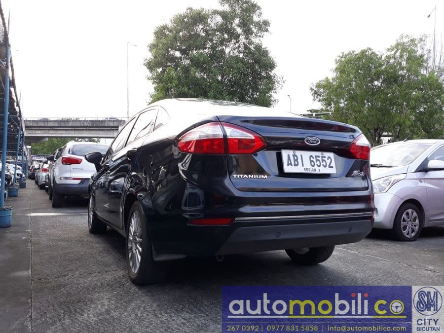 2015 Ford Fiesta - Rear View