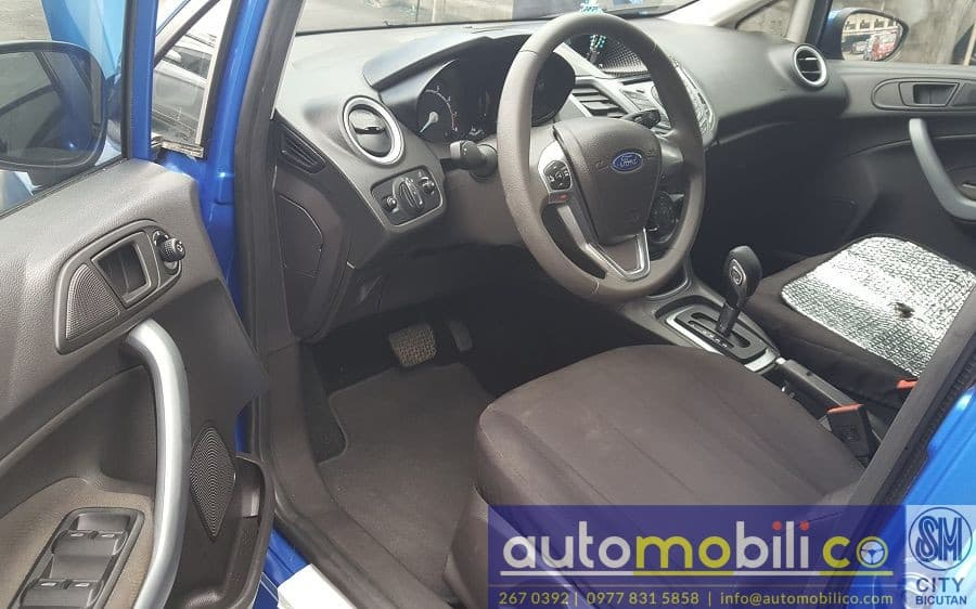 2016 Ford Fiesta - Interior Front View