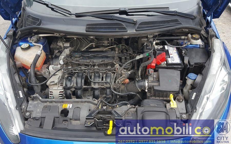 2016 Ford Fiesta - Interior Rear View