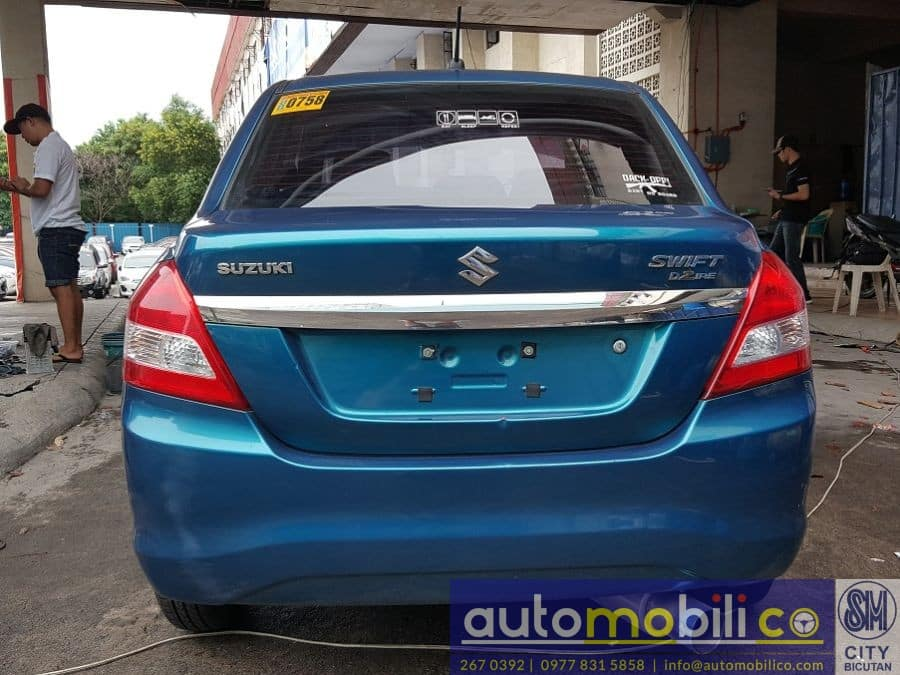 2016 Suzuki Swift Dzire - Rear View