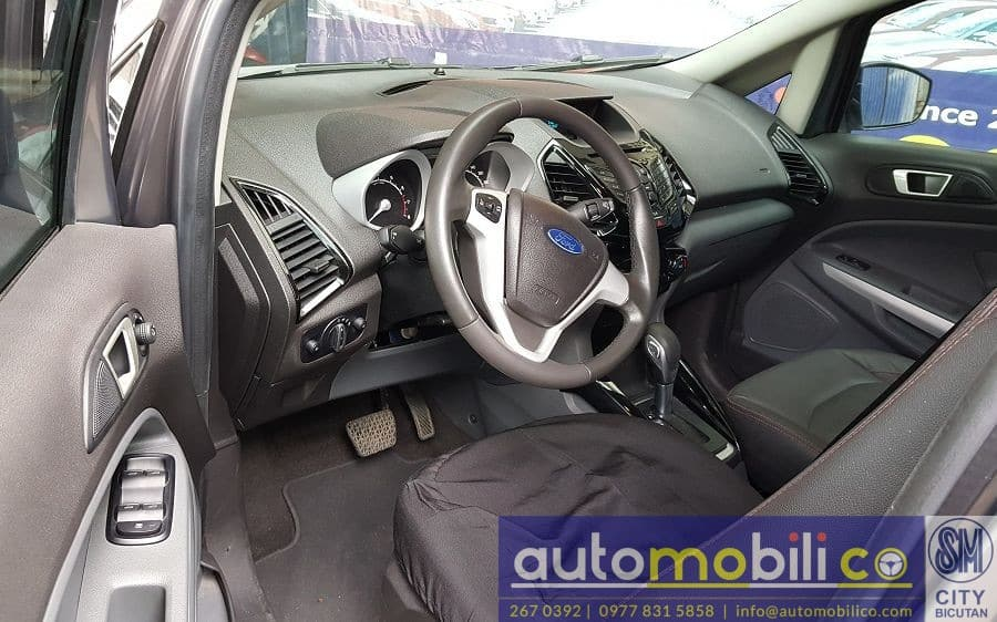 2016 Ford EcoSport - Interior Front View