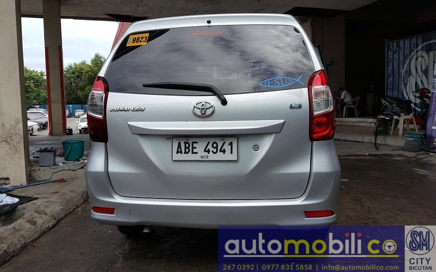 2016 Toyota Avanza - Rear View