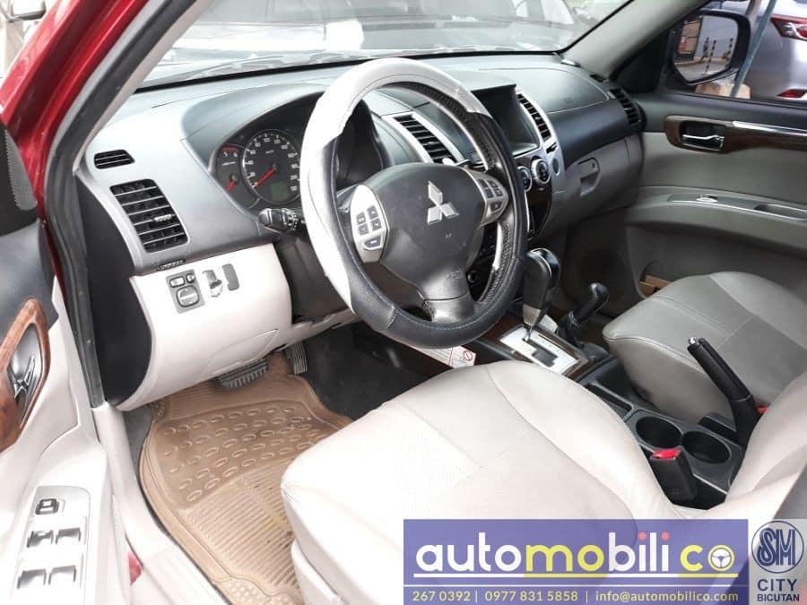 2012 Mitsubishi Montero Sport - Interior Front View