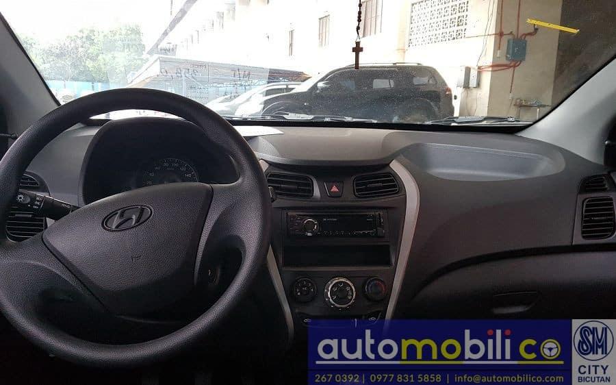 2016 Hyundai Eon - Interior Front View