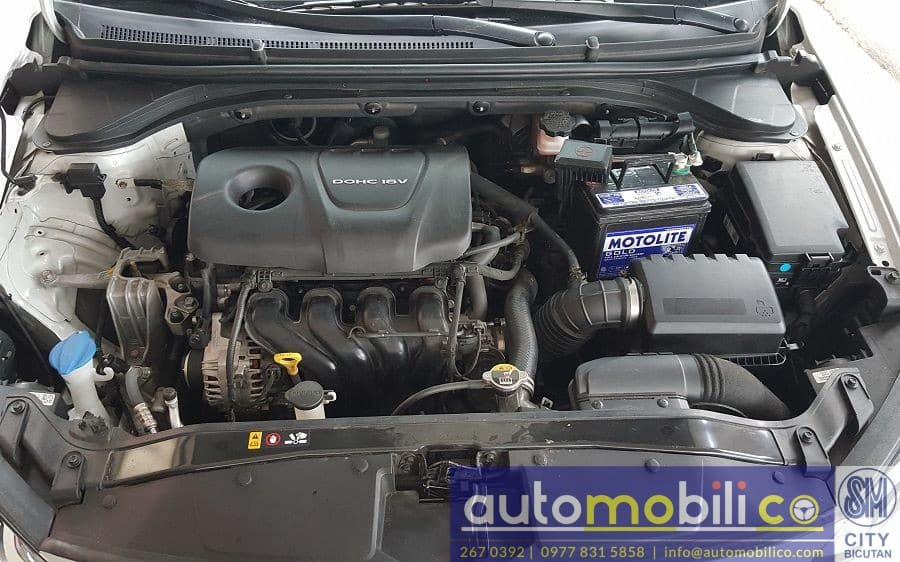 2017 Hyundai Elantra - Interior Rear View