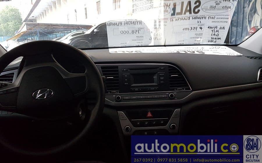 2017 Hyundai Elantra - Interior Front View