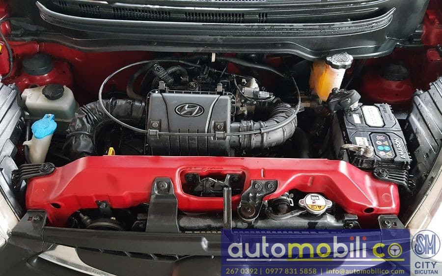 2015 Hyundai Eon - Interior Rear View