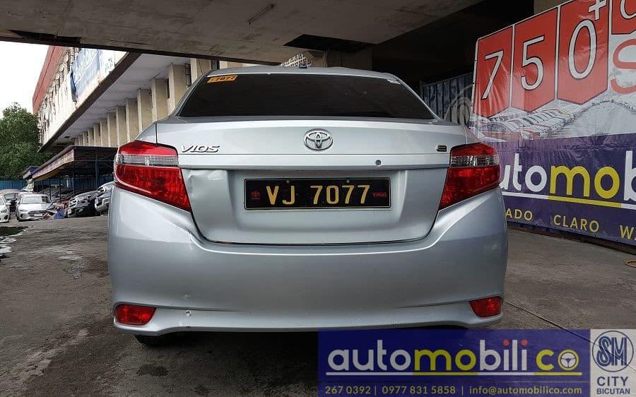 2016 Toyota Vios - Rear View