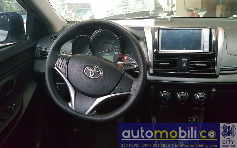 2016 Toyota Vios - Interior Front View