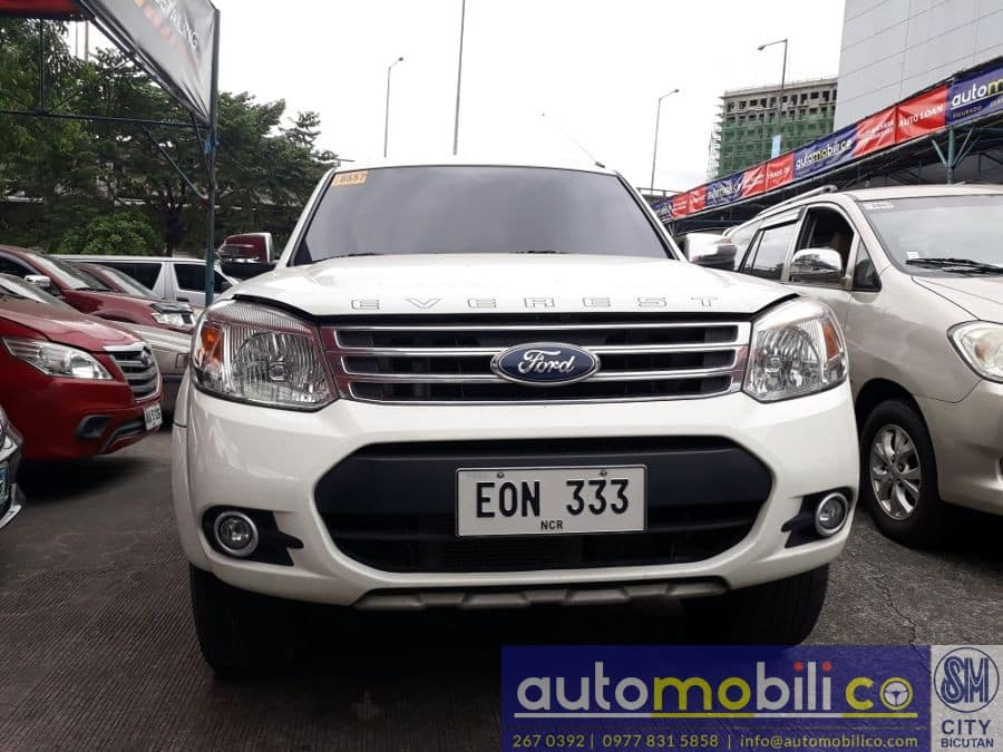 2014 Ford Everest - Front View