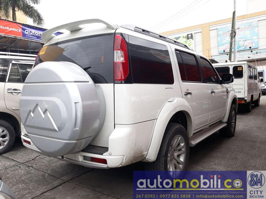 2014 Ford Everest - Rear View