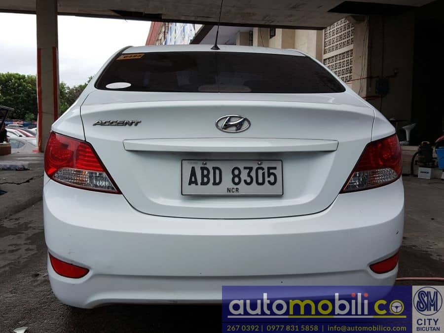 2014 Hyundai Accent - Rear View