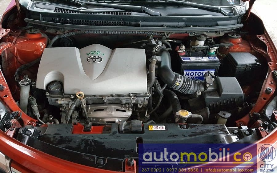 2017 Toyota Vios - Interior Rear View