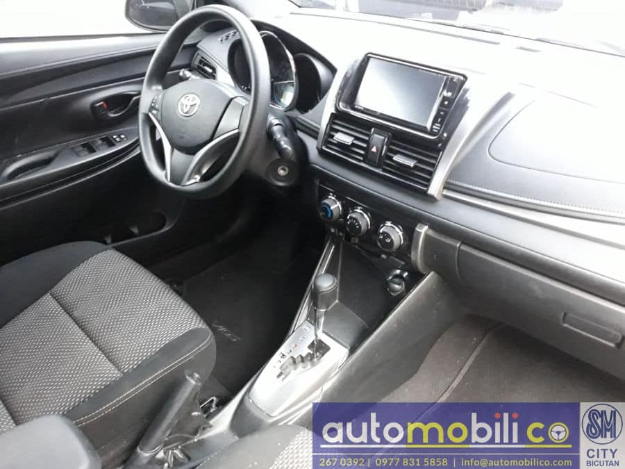 2016 Toyota Vios - Interior Rear View
