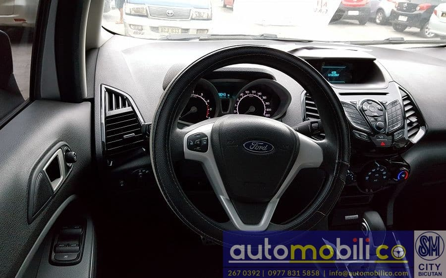 2017 Ford EcoSport - Interior Front View