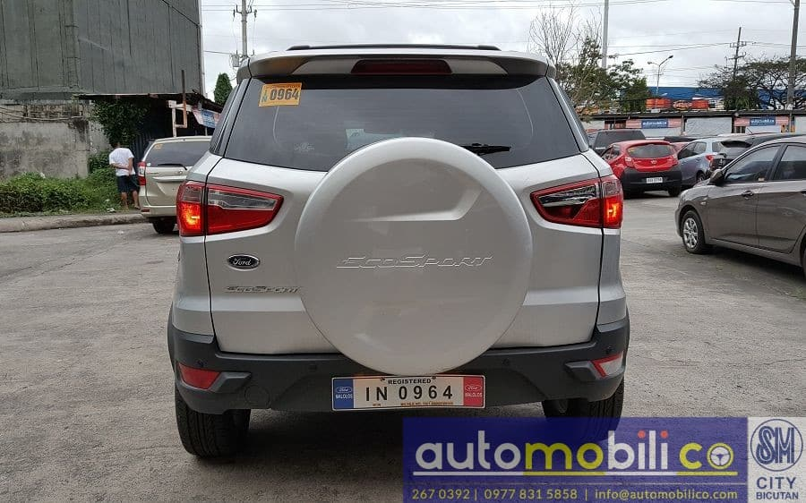 2017 Ford EcoSport - Rear View