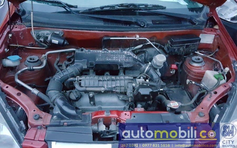 2015 Suzuki Alto - Interior Rear View