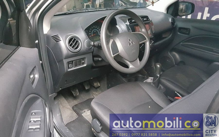2016 Mitsubishi Mirage - Interior Front View
