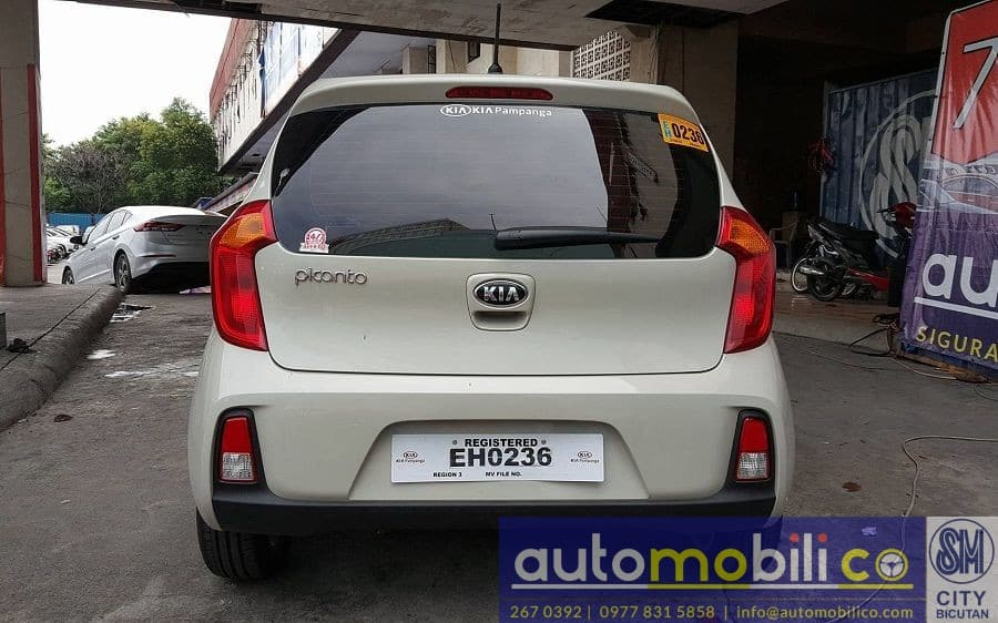 2017 Kia Picanto - Rear View