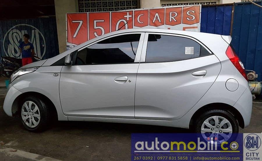2016 Hyundai Eon - Left View