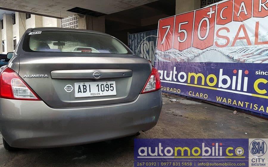2015 Nissan Almera - Rear View