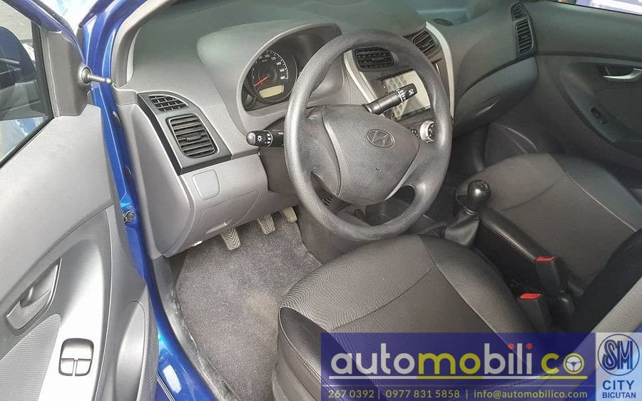 2017 Hyundai Eon - Interior Front View