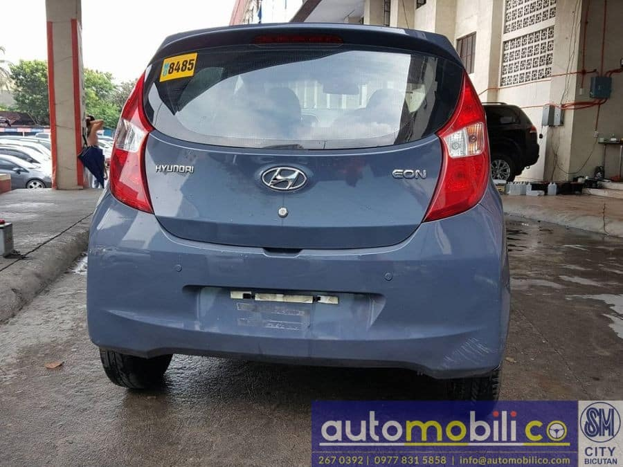 2016 Hyundai Eon - Rear View